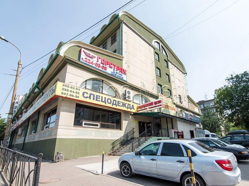 здание наркологической клиники Лотос Мед